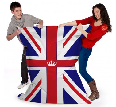 Iconic Union Jack Printed Beanbag