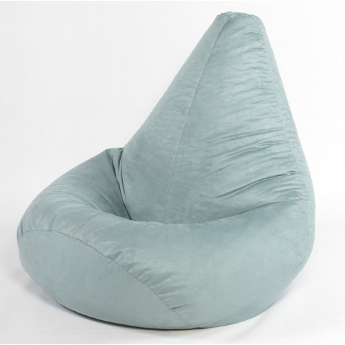 large Highback Faux Suede Beanbag Adult