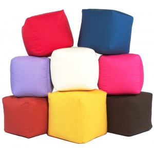 Footstool Cube for indoors or Outdoors