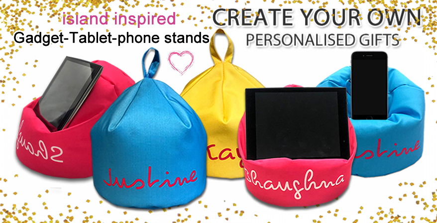 personalised gadget-tablet-phone stands