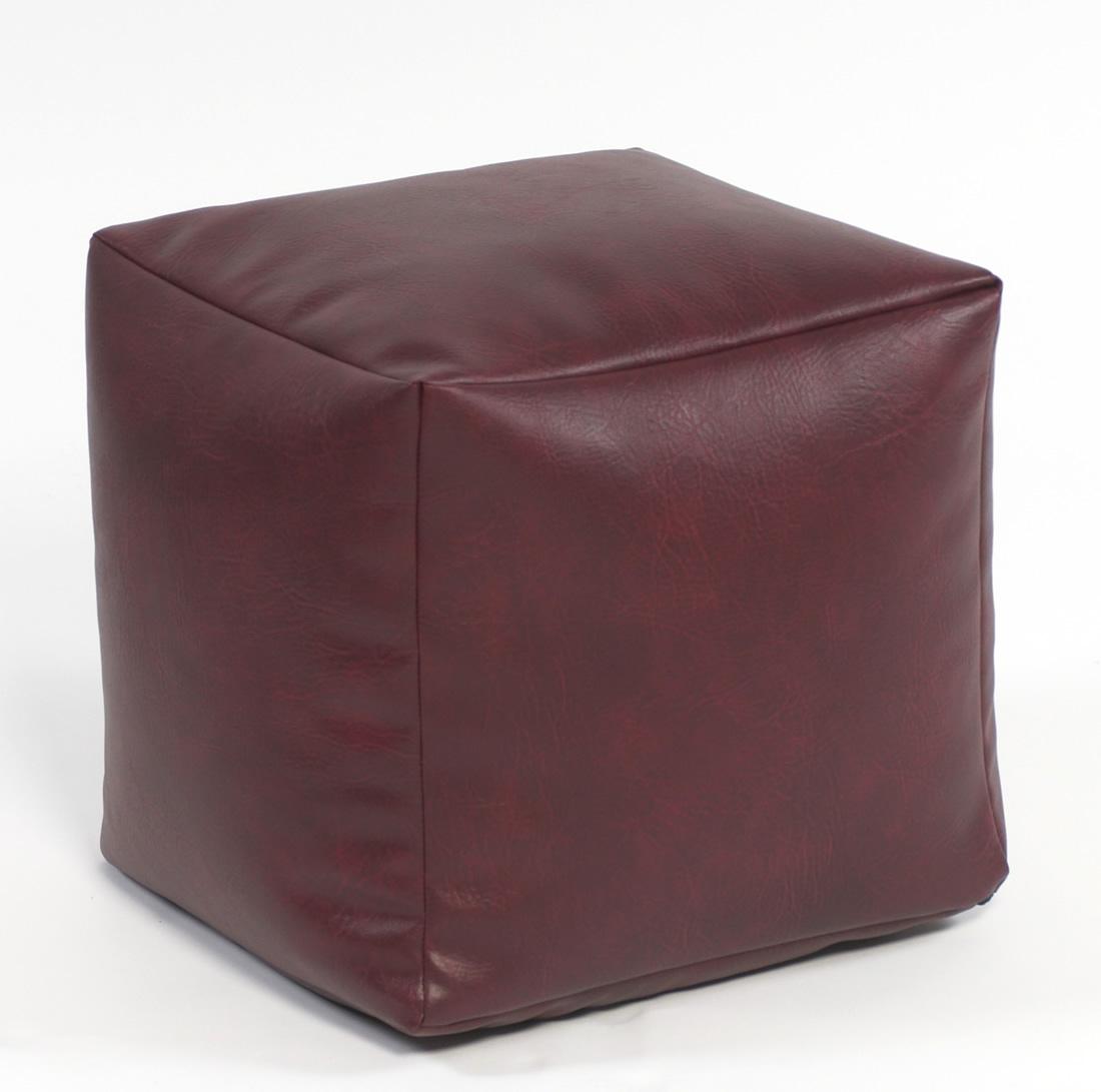 Miraculous Footstool Cube Faux Leather Creativecarmelina Interior Chair Design Creativecarmelinacom