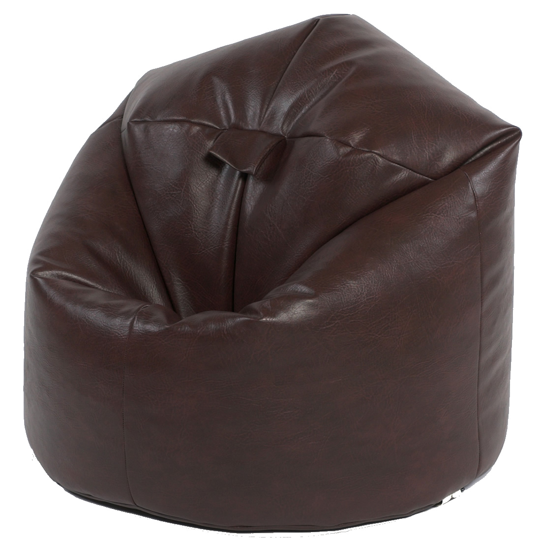Xxl Classic Faux Leather Beanbag